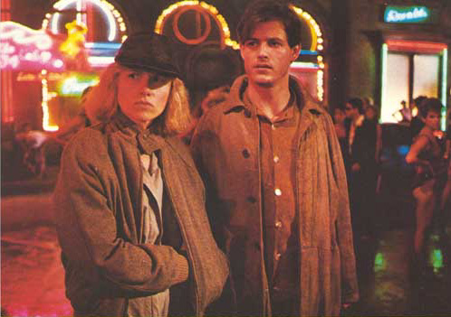 Amy Madigan and Michael Paré